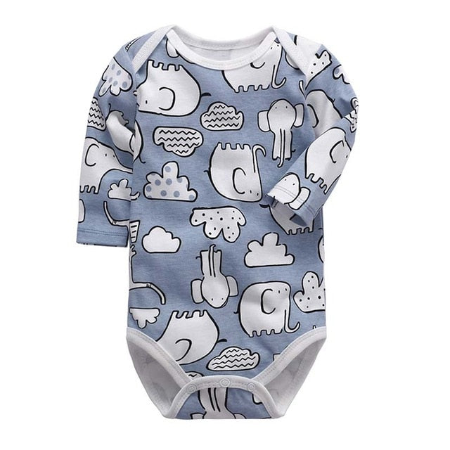 Newborn Bodysuit Baby Clothes Cotton Body Baby Long Sleeve Underwear Infant Boys Girls Clothing Baby's Sets