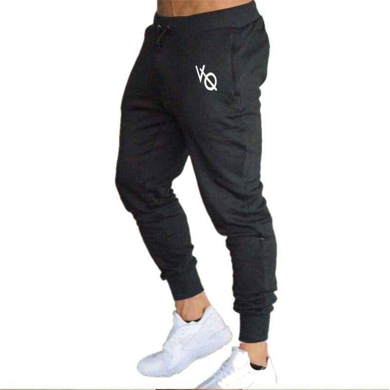 VQ Muscle Fitness Brother Sports And Leisure Slim Fit Pants Running Fitness Cotton Athletic Pants Stretch Factory Direct