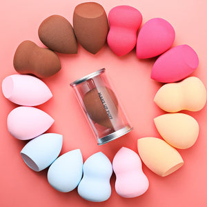 1pcs  Cosmetic Puff Makeup Sponge Beauty Egg Face Liquid Foundation Cream Make Up Cosmetic Powder Puff  Water Drop Shape