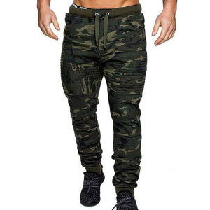 MJARTORIA 2020 CamouflageFitness Trousers Mens Winter Warm Drawstring Closure Joggers Camo Jogger Pants Gym Athletic Sweatpants