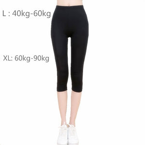 LAISIYI Women Leggings No Transparent Metallic Foil Print Leggings Exercise Fitness Patchwork Push Up Female Pants