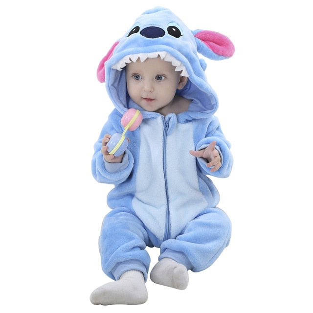 SLAIXIU Baby Sleeper Cotton Pajamas For Children Girls Cartoon Anime Panda Kids Costume Boy Sleepwear Newborn Blanket Jumpsuit