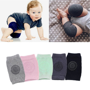 Baby Knee Pads Cartoon Safety Cotton Flexible Crawling Protector Kids Kneecaps Children Short Kneepad Baby Leg Warmers