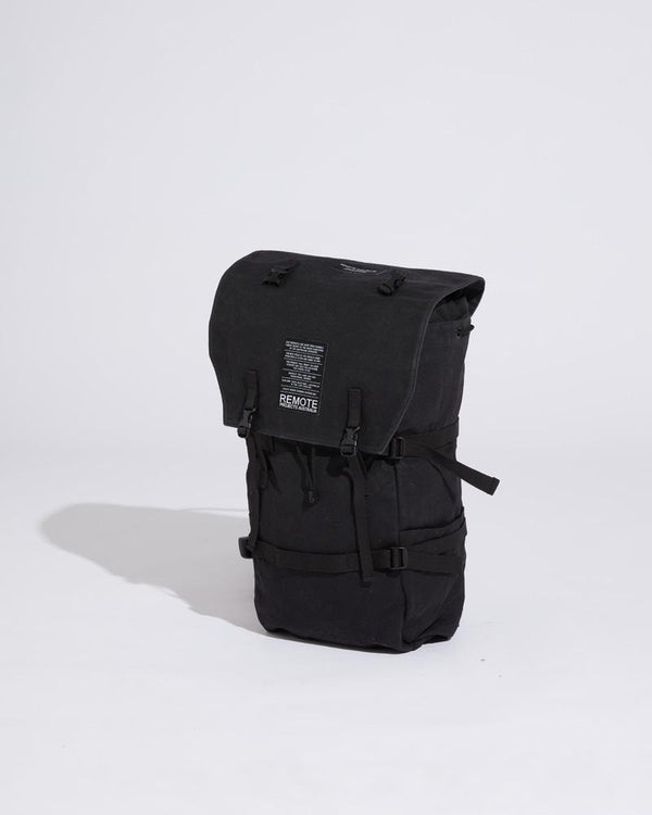 RUGGED BACKPACK - BLACK [PRE-ORDER]