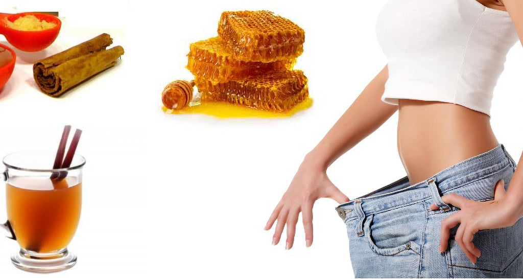 honey with warm water helps with weight loss