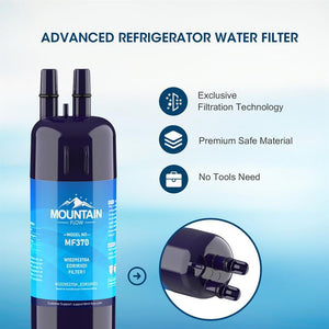 MountainFlow W10295370A & EDR1RXD1 water filter, 9081 (3pcs)