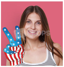 Load image into Gallery viewer, American Flag Hand