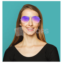 Load image into Gallery viewer, Palm Tree Aviator Glasses