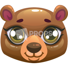Load image into Gallery viewer, Bear Head