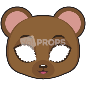 Load image into Gallery viewer, Bear Mask 4