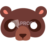 Load image into Gallery viewer, Bear Mask 1