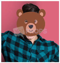 Load image into Gallery viewer, Bear Mask 2