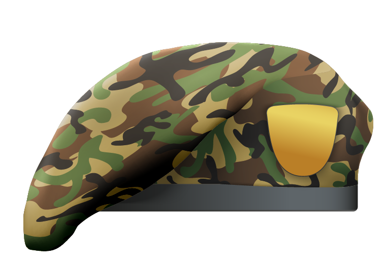 Camouflage Beret 1