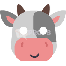 Load image into Gallery viewer, Cow Mask 2