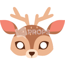 Load image into Gallery viewer, Deer Mask