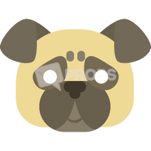 Load image into Gallery viewer, Dog Mask 3