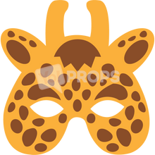 Load image into Gallery viewer, Giraffe Mask 2