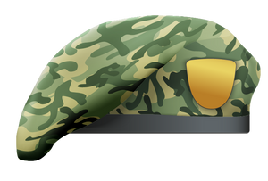 Camouflage Beret 4
