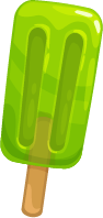 Green Popsicle
