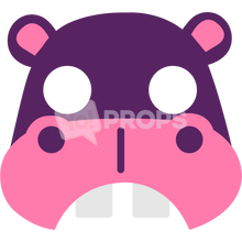 Load image into Gallery viewer, Hippo Mask 3