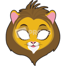 Load image into Gallery viewer, Lion Mask 1