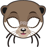 Load image into Gallery viewer, Otter Mask