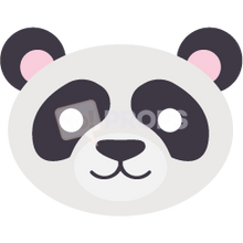 Load image into Gallery viewer, Panda Mask 2