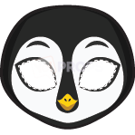 Load image into Gallery viewer, Penguin Mask