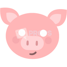 Load image into Gallery viewer, Piglet Mask 1