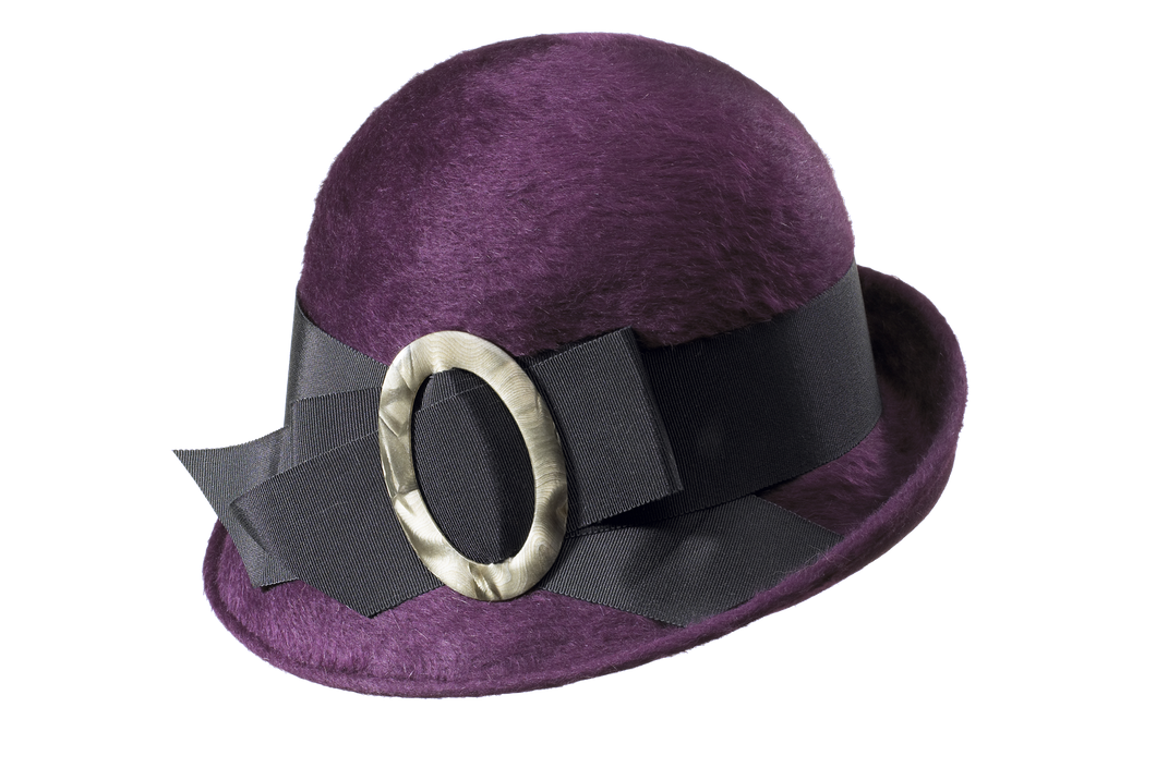 Purple 20's Hat