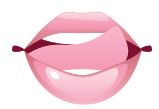 Sexy Pink Lips