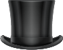 Tall Black Top Hat
