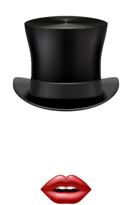 Top Hat and Lips