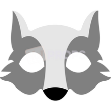 Load image into Gallery viewer, Wolf Mask 2