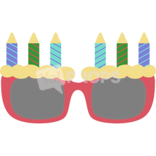 Load image into Gallery viewer, Birthday Glasses