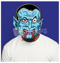 Load image into Gallery viewer, Blue Dracula Head