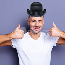 Load image into Gallery viewer, Bowler Hat 3