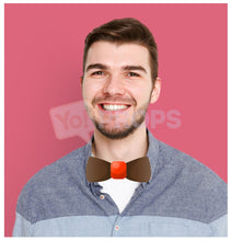 Load image into Gallery viewer, Brown Bowtie