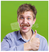 Load image into Gallery viewer, Brown Mustache 4
