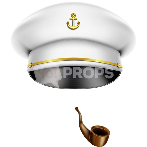 Captain's Hat and Pipe