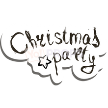 Load image into Gallery viewer, Christmas Party Speech Bubble