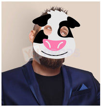 Load image into Gallery viewer, Cow Mask 3