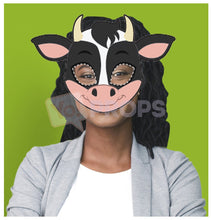 Load image into Gallery viewer, Cow Mask 4