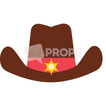 Load image into Gallery viewer, Brown Cowboy Hat