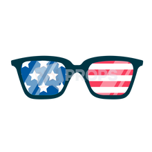 Load image into Gallery viewer, American Flag Glasses