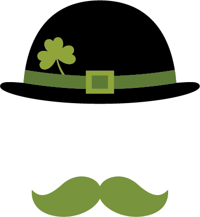 Clover Hat and Mustache