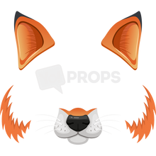 Load image into Gallery viewer, Fox Mask