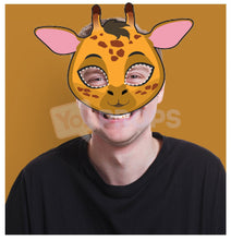 Load image into Gallery viewer, Giraffe Mask 3