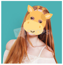 Load image into Gallery viewer, Giraffe Mask