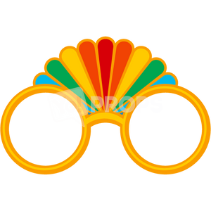 Gold Rainbow Glasses